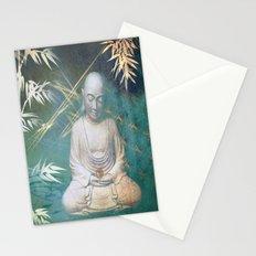 Buddha's awakening from deep meditation Stationery Cards
