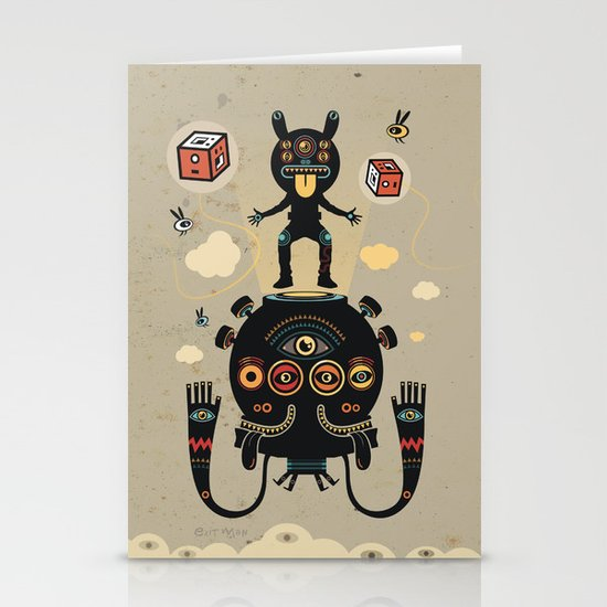 Monstertrap Stationery Card