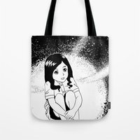 the girl from outer space Tote Bag