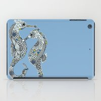 Two Seahorses iPad Case