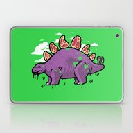 Steakosaurus Laptop & iPad Skin