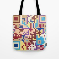 Number One Multicolour  Tote Bag