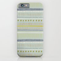 Teal & Green Pattern iPhone 6 Slim Case