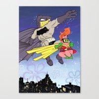 DarkBob KnightPants Canvas Print