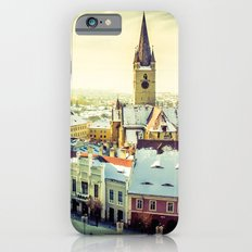 Cityscape of Sibiu, Romania iPhone 6 Slim Case