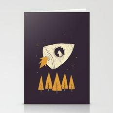 Laika(purple) Stationery Cards