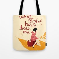 What Might Have Been Me Tote Bag