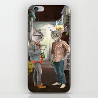 A Cats Night Out iPhone & iPod Skin