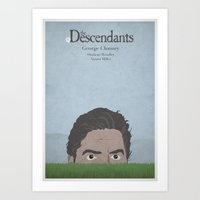 The Descendants - Minima… Art Print