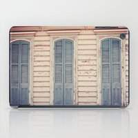 Three Shutters - New Orleans French Quarter iPad Case