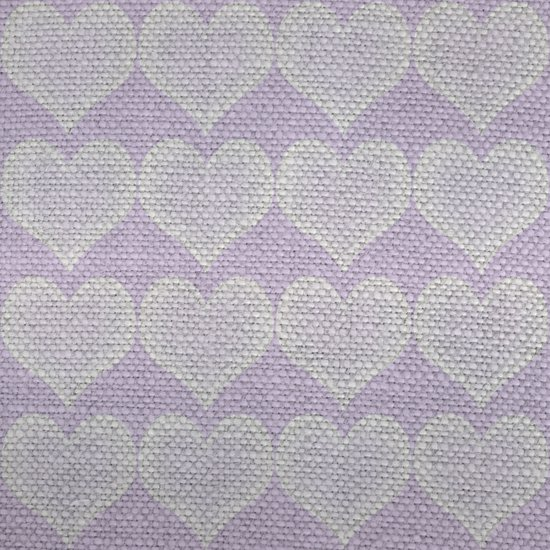 Heart Fabric Art Print