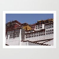 Potala Palace Art Print