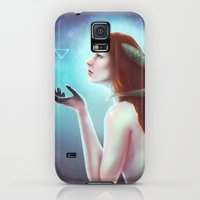 Galaxy S5 Cases featuring Written in stars by Amanda Costa