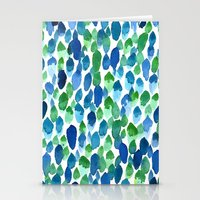 Clean Rain Stationery Cards