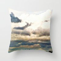 That Kind of Day Throw Pillow