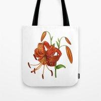 Lilium Tigrinum Tote Bag
