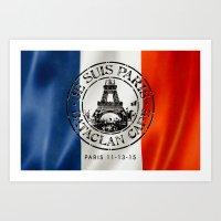 Je Suis Paris Art Print