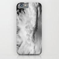 white clouds iPhone 6 Slim Case