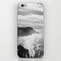 Cape Lookout - Black & W… iPhone & iPod Skin
