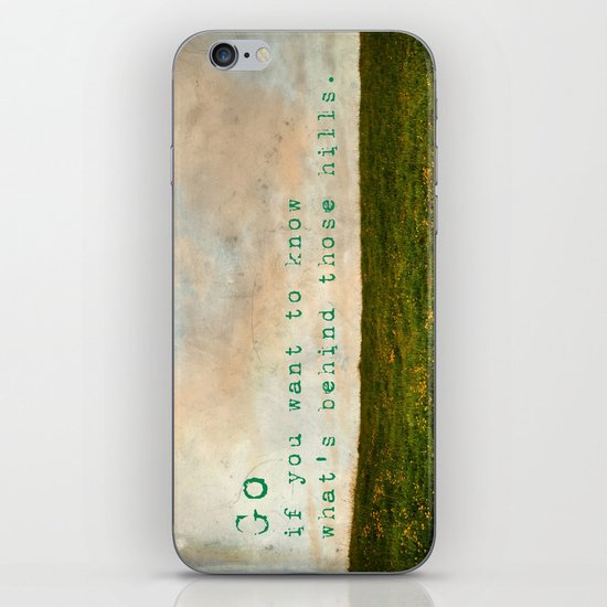 Go iPhone & iPod Skin