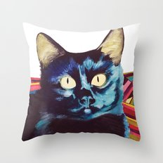 Buffy the Cat Throw Pillow