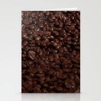 Coffee Beans Stationery Cards