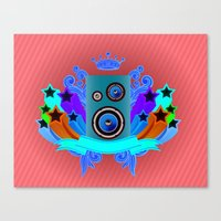 Music King Canvas Print