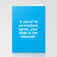 Cleanest Desk Stationery Cards