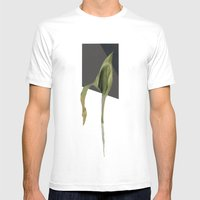 Untitled.4 Mens Fitted Tee White SMALL