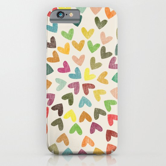 Love is all around iPhone & iPod Case