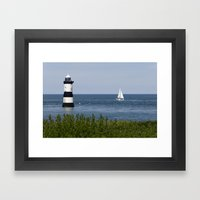 Penmon Framed Art Print