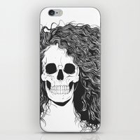 SKull GIrls 2 - Sea Navy iPhone & iPod Skin