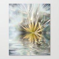Dandelion fantasy Canvas Print