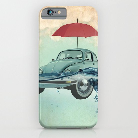 VW Chance of rain in deep water iPhone & iPod Case