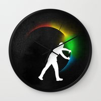 Color Theory Wall Clock