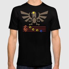 Bioshock Infinite: Song of the Songbird Mens Fitted Tee Black SMALL