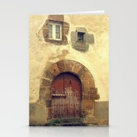 The red door Stationery Cards