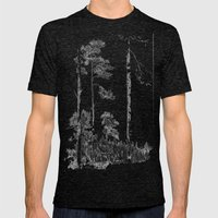 Birch  Mens Fitted Tee Tri-Black SMALL