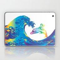 Hokusai Rainbow & The An… Laptop & iPad Skin