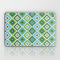 Macrame Green Laptop & iPad Skin
