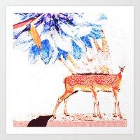 6Zampette Art Print