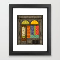 Shop Windows Framed Art Print