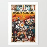 Art Print featuring Holy Grail by Nikoby