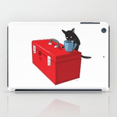 Chat Noir Beverage Tipper iPad Case