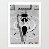 Ulysses 31 (alternate Ve… Art Print