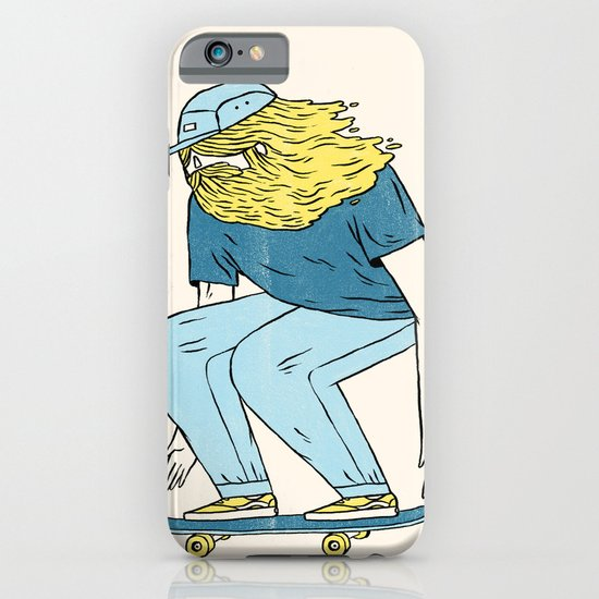 Skate Beard iPhone & iPod Case
