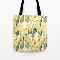 des-integrated tartan pattern Tote Bag