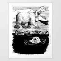 And The Otter Loved The … Art Print