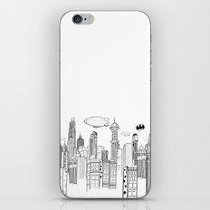 Gotham City Skyline iPhone & iPod Skin
