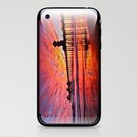 Sunset Huntington Beach … iPhone & iPod Skin